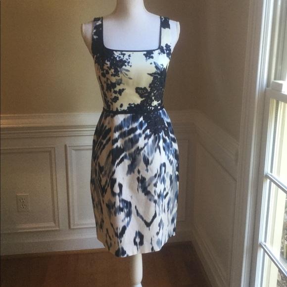 dbe82d3f83e7a Elie Tahari Dresses & Skirts - ELIE TAHARI FLORAL & Ikat print Dress ...